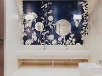 욕실 모자이크 아이디어, 흑백 모자이크 욕실