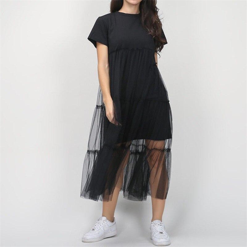 Стильное женское платье, повседневное, короткий рукав, круглый вырез, одноцветное, вечернее, Бальное, выпускное, летнее, Хлопковое платье, це...