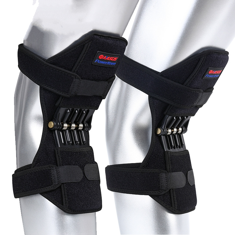 Joint Support Knee Pads Breathable Non slip Power Lift Joint Support Knee Pads Powerful Rebound Spring