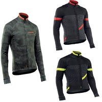 Traje Ciclismo Invierno Hombre NW Winter Thermal Fleece Cycling Jersey Tenue Velo Thermique Hiver Long Sleeve
