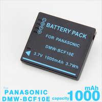 Batterie pour Panasonic Lumix Caméra CGA-S/106C CGA-S/106D CGA-S/106B DE-A59B DE-A60B DMW-BCF10E DMW BCF10E DMW-BCF10 DMC-FS30