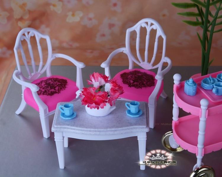 Hot Selling Doll Möbler Mats Tårta Bil Tillbehör Till Barbie Ken - Dockor och tillbehör - Foto 4