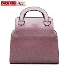 ZOOLER Горячая подлинная кожаная сумка натуральная кожа сумки класса люкс Специально разработанный Складные сумки bolsa feminina #6163