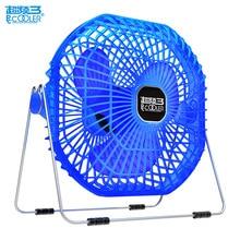 Pccooler USB Gadget Mini Flexible USB Fan Desktop Cool 15cm Mute fan Large Air Volume Washable Desk Office Home Classroom Fan