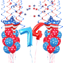 United States July 4th Independence Day Balloons US National Day Celebration Party Arrangement Decoration цена 2017