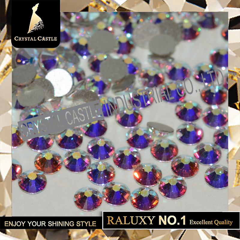 Non Hotfix Rhinestones Grade 5A All Size None Hot Fix Flatback Crystal AB Glass Non Hotfix Rhinestones For Nail Art Stone 2058 ...