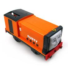 T0169 Electric Thomas and friend Rusty Trackmaster engine Motorized train Chinldren child kids plastic toys gift
