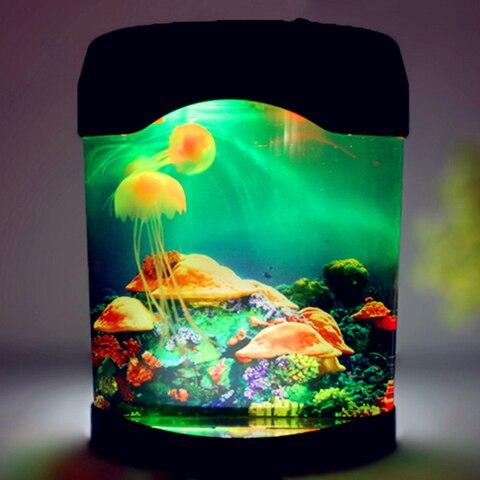 casa decoracao simulacao jellyfish lampada presente