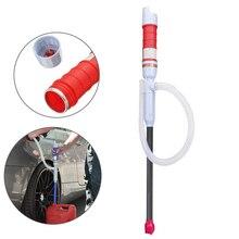 Бытовой Открытый Портативный жидкого масла электрический ручной водяной насос для автомобиля топлива газа передачи всасывающие насосы