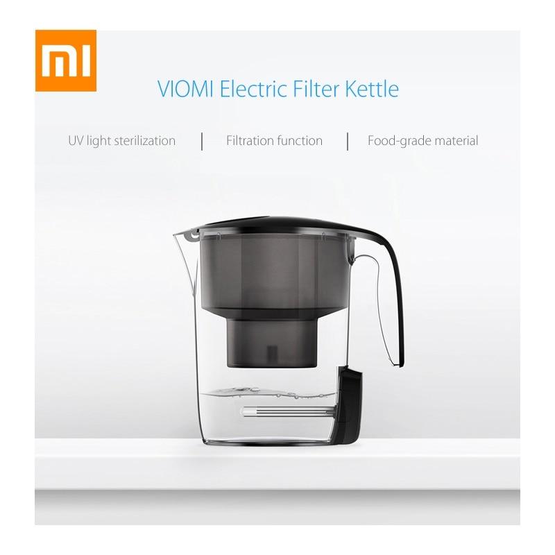 Оригинал Сяо mi Vio mi УФ-фильтр для воды чайник L1 ультрафиолетовый УФ стерилизация 7 тяжелые мульти эффект фильтр срок службы Дисплей