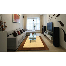 ALITEXTILEBTOC European And American Style 100% Acrylic Simple Rectangular Carpet For Living Room Bedroom  Kids Play Mat