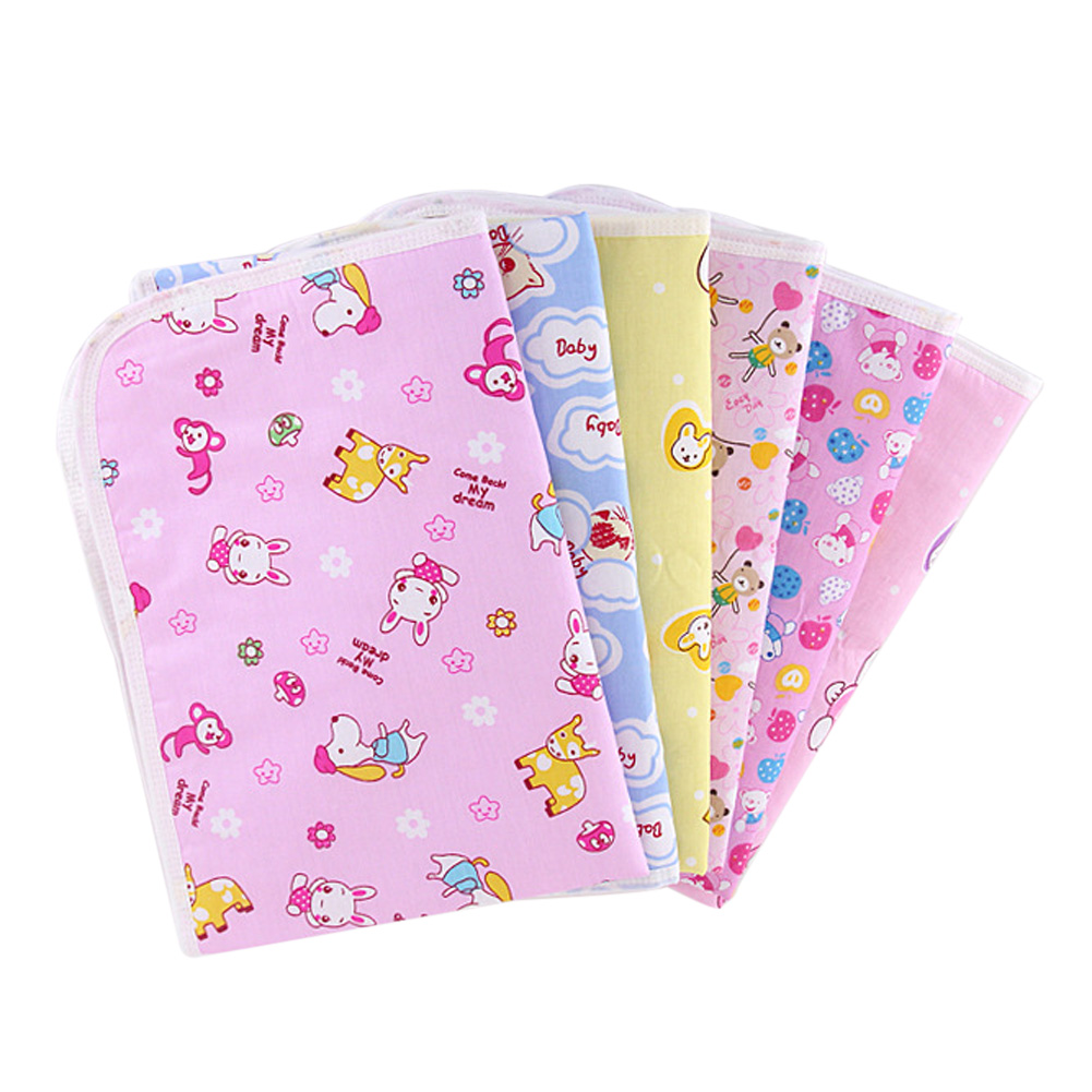 86 x 68cm waterproof diaper baby underpad cotton mattress changing table urine mat portable baby diaper changing crawling mat