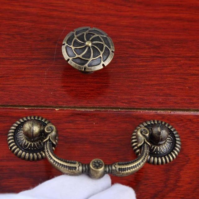 Schoenenkast In Stijl Design.2 5 Rustieke Retro Stijl Meubels Drop Ringen Handgrepen Brons Lade