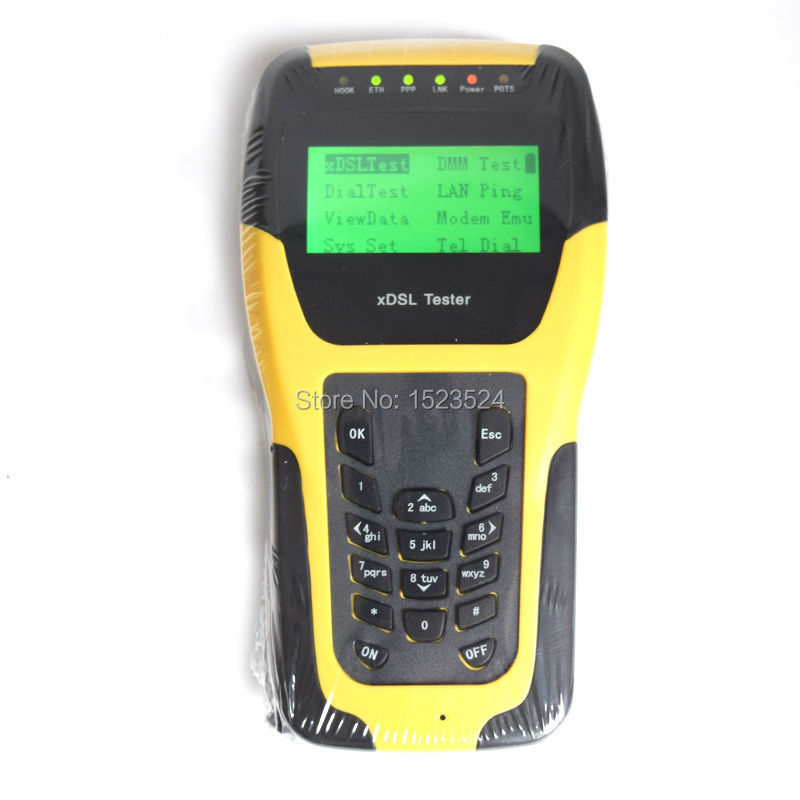 DHL Free Shipping ST332B Basic VDSL VDSL2 Tester for xDSL Line test and Maintenance Tools (ADSL/ADSL2/ADSL2+/VDSL2 /READSL)