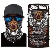 Motorcycle Mask Balaclava Skull Biker Face Shield Mascara Moto Halloween Kominiarka Cagoule Visage Ghost