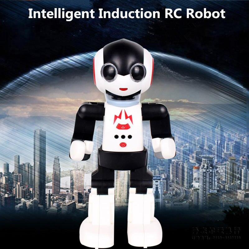 Nouveau 2.4 Ghz rc télécommande intelligente smart robot humanoïdes robot palm induction Jouet jouets éducatifs marcher danse robot