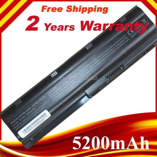 6cells battery for HP CQ42 CQ32 G42 CQ43 G32 DV6 DM4 HSTNN-UB0W 593553-001 MU06XL HSTNN - LBOW batteries MU06