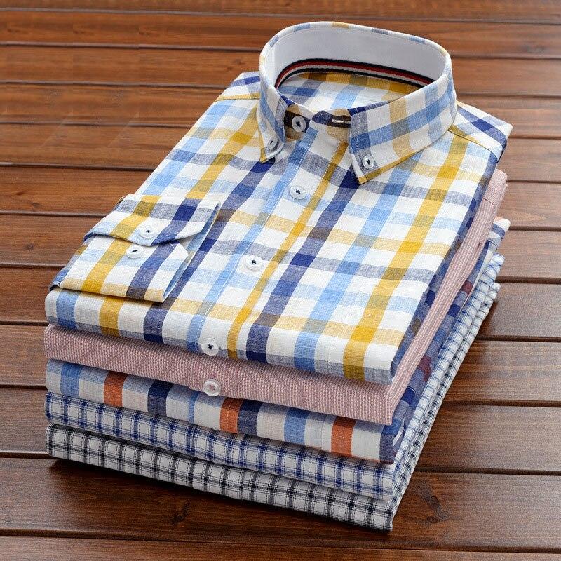 10xl 9xl 8xl 7xl 6xl 5xl Männer Plus Größe Hemd Business Casual Lose Gerade 100% Baumwolle Lange-ärmeln Hemd Männlich Marke Kleidung