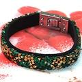 Crystal bracelets wrap bracelet/wirstlet with buckle clasp,unique designed blingbling leather bracelet and bangle B51236