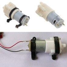 цена на Priming Diaphragm Mini Pump Spray Motor 12V Micro Pump For Water Dispenser Pumps