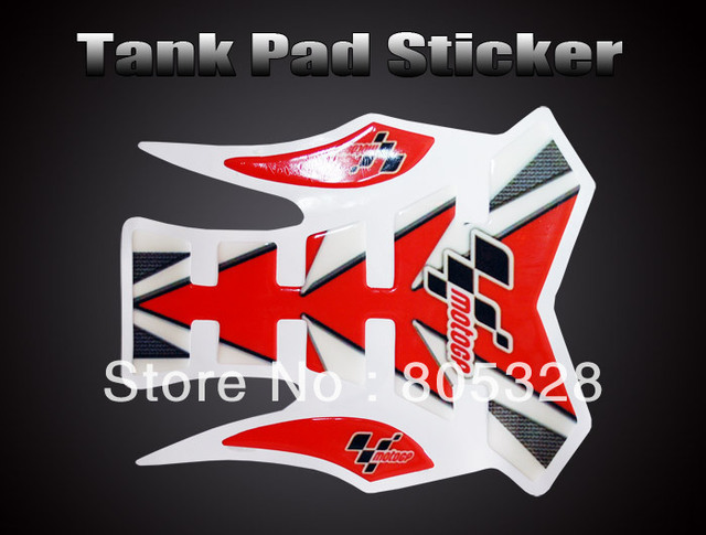 Free Shipping Skeleton Motorcycle Tank Protector Pad Sticker  Decal ST004