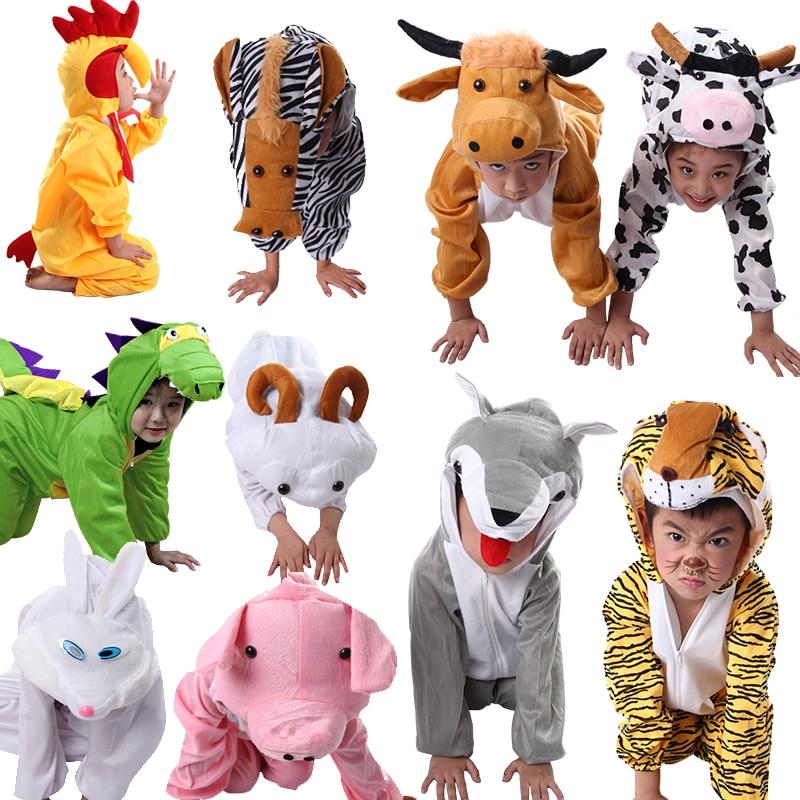 Adult/&Kids Milk Cow Fancy Dress Animal Cosplay Costume Pajamas Sleepwear 2019