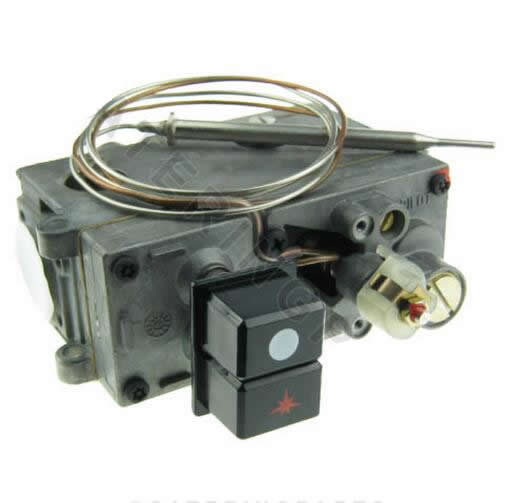 710 MINISIT 0.710.758 THERMOSTAT-IC VALVE GAS CONTROL FOR FRYER 110-190