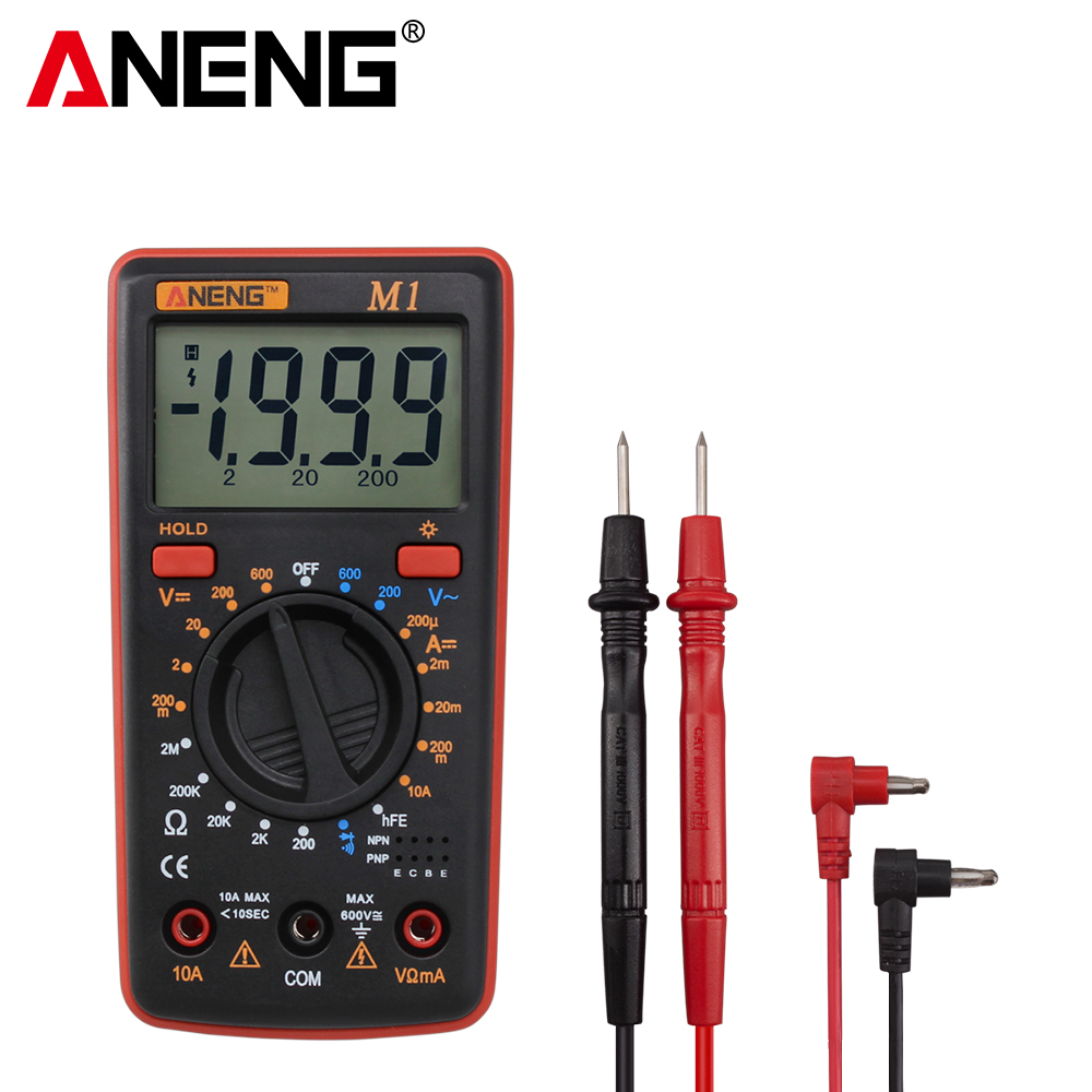 ANENG M1 Digital Multimeter Esr Meter  Multimetro Tester True Rms Digital Multimeter Testers Multi Meter Richmeters Dmm 400a