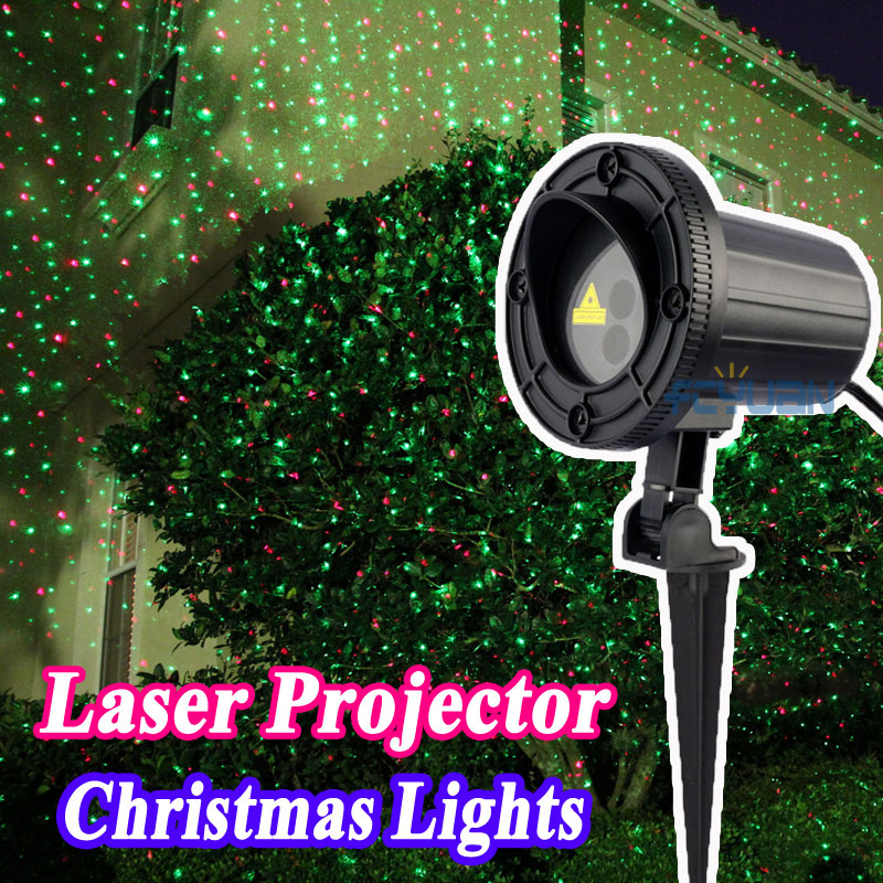 outdoor holiday light show projector christmas laser lights red green. Black Bedroom Furniture Sets. Home Design Ideas
