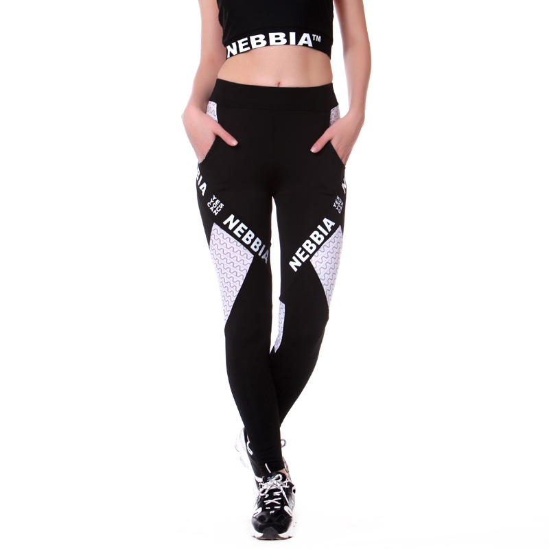 2018 New Women Leggings Pants Push-Up Pants Sexy Thighs Fitness Letters Stitching Leggings Quick-Dry Stretch Pants