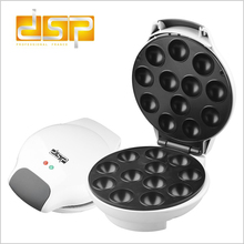Купить с кэшбэком DSP KC1007Electric Cake POP Maker Polytetrafl Iron Plate Two-side Heating Full Automatic Cooking Baking Pan Dessert Cake Makers