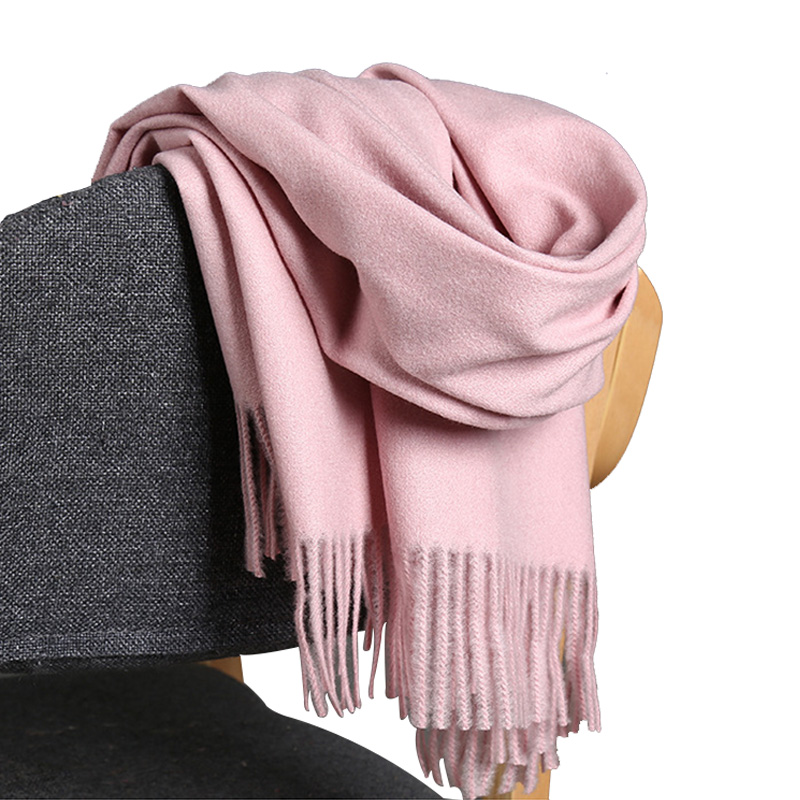 Warm Long Scarf Cashmere Wool Stole Scarves Shawl Wraps Womens Mens