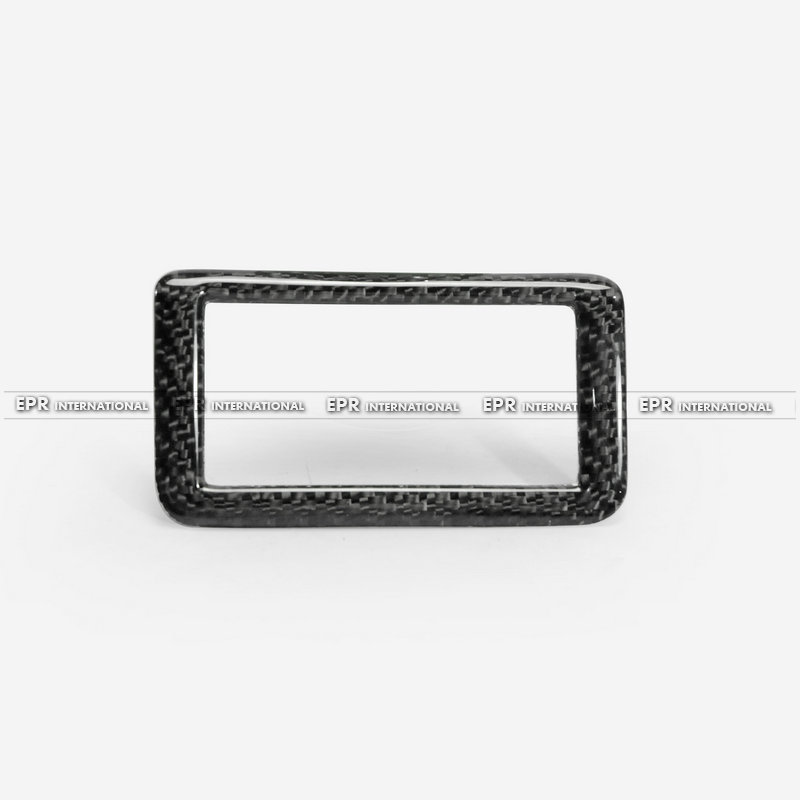 Carbon Fiber Parking Sensor switch trim Accessories Car Styling For 10th Generation Civic FC