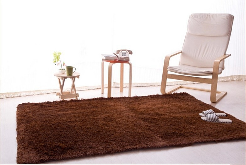 Hot Long Plush Carpet For Living Room And Bedroom Rectangle Shape Mats Good Quality Rugs