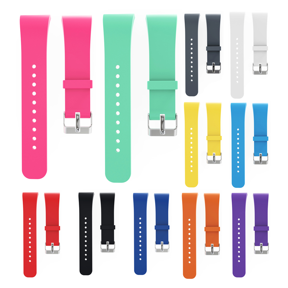 Hotsale 18cm Candy Colors Silicone Watchband Replacement Watch Strap for Samsung Gear Fit 2 Strap SM-R360 Watch bandjes luxury silicone watch replacement band strap for samsung gear fit 2 sm r360 wristband 100