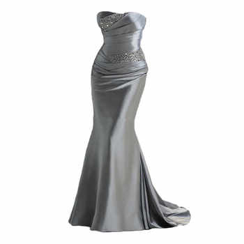 Mermaid Sweetheart Bridesmaid Dresses 2020 Party Gowns Long Formal Beaded Prom robe de soiree Wedding Guest Dresses In Stock - DISCOUNT ITEM  5 OFF Weddings & Events