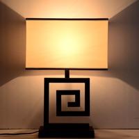 Классический китайский стиль ретро ткань гладить настольные лампы для спальни E27 led в творческий прикроватная декор стола светильники для о
