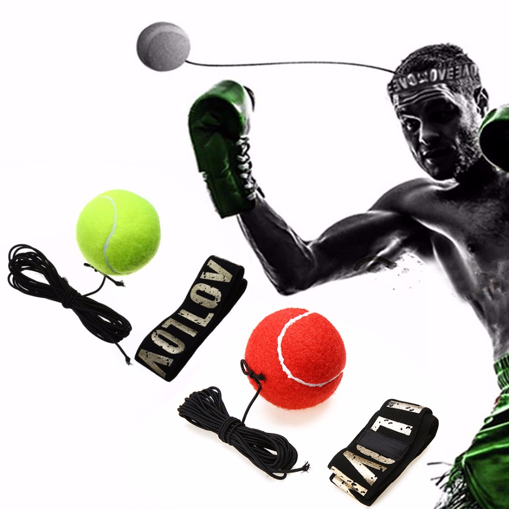 Boxing Accessories Fight Boxeo Ball Training Accessories Reflex Speed Ball Muay Thai Trainer Quick Response Ball Punching