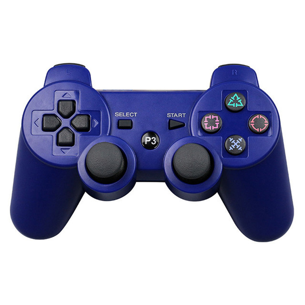 JIELI Wireless Bluetooth Solid Color Controller For Sony PlayStation Dualshock 3 PS3 Controller Vibration Gamepad 3cleader® wireless controller for ps3 playstation 3 camouflage 1