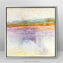 Modern abstract Colour Oil Painting Hand painted canvas  the sitting room Decorative artwork 4