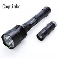 SANYI 6000 Lumens Tactical Flashlights Torches Powerful Led Flashlight T6 Lighting Lamp 18650 Bettery Torch Light