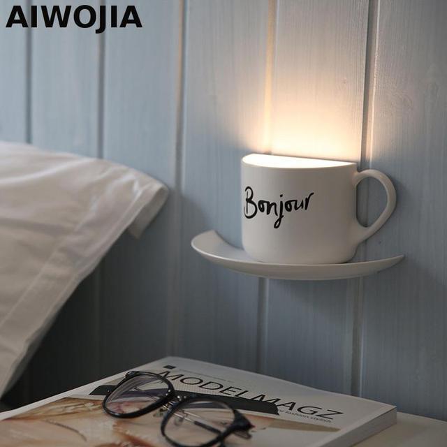 Appliques Leuchten Murales Wandleuchten Für Zuhause Sound Und  Lichtsteuerung Wandleuchte Loft Schlafzimmer Wandlampen Beleuchtung