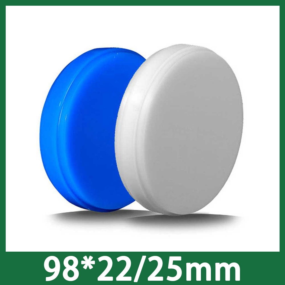 22 25mm Thickness High Quality Wax Block Disk for CADCAM 98mm 5PCS lot