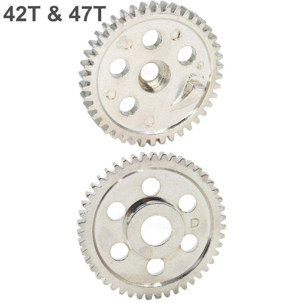 06033 06232 HSP Metal Spur Gear (42T) & (47T) For RC 1/10 Off-Road Buggy Nitro Car стоимость