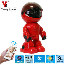 YobangSecurity 960P 1.3MP Mini Robot Wifi Wireless P2P IP Camera Home Surveillance Security System Baby Monitor For IOS Android