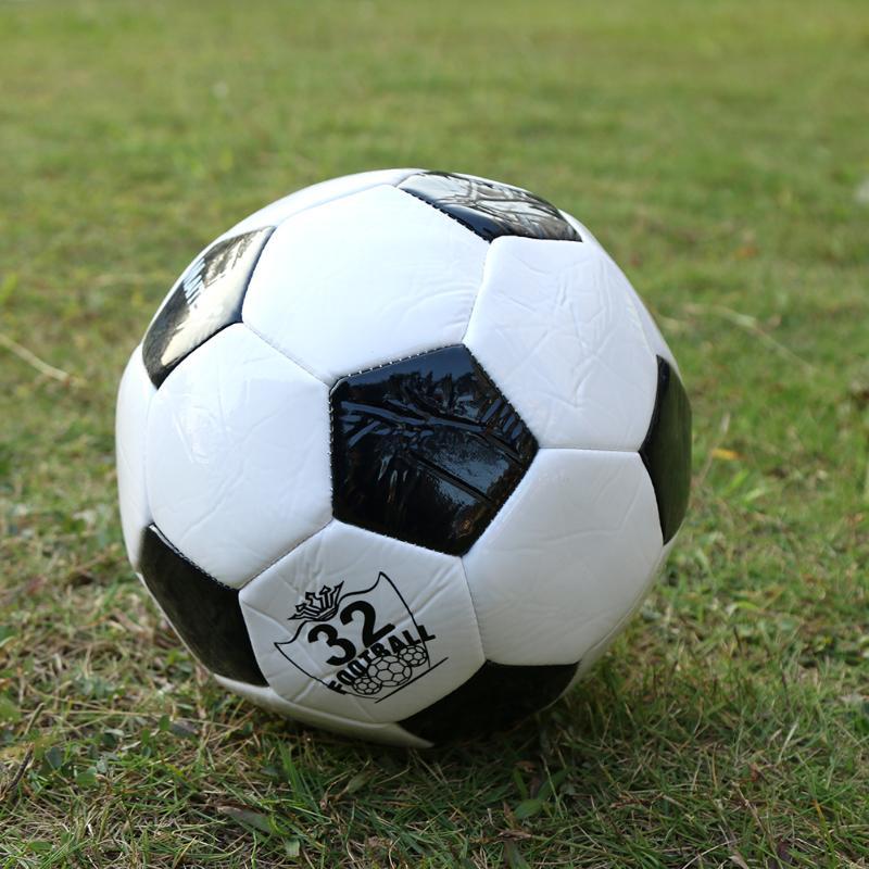 HTB1 EcWfLDH8KJjy1Xcq6ApdXXal - ballon de footClassic Black White Size Soccer Ball Outdoor Sport Training Balls  200mm Football Germany Spain Football