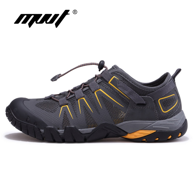 Summer New Top Men Hiking Shoes Men Sneakers Soft And Breathable Outdoor Sport Shoes Drain Quik