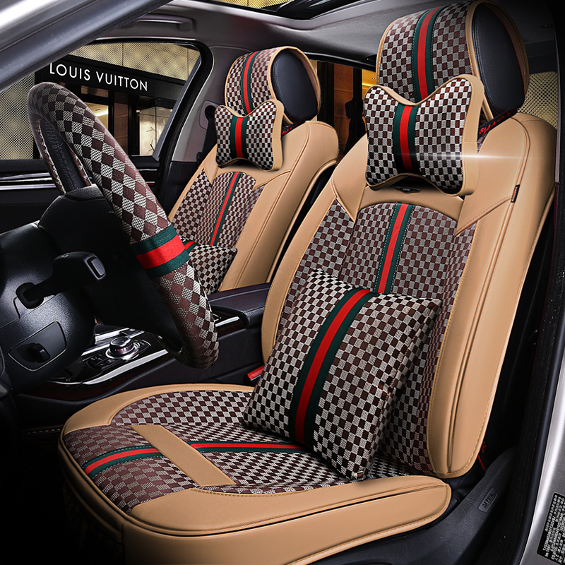 6D Full Surround Design Car Cushion Louis Series Luxurious Classical Seat Cover In Automobiles Covers From Motorcycles On