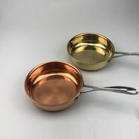 Pure copper Pan Steak roasting pan Frying pan non coasting