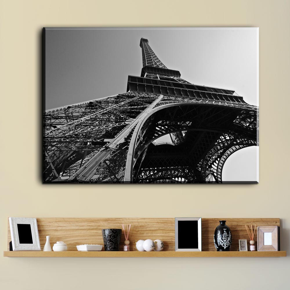 Zz1918 modern canvas painting eiffel tower art picture oil zz1918 modern canvas painting eiffel tower art picture oil painting home decor paris landscape modular wall painting no frame in painting calligraphy from jeuxipadfo Images